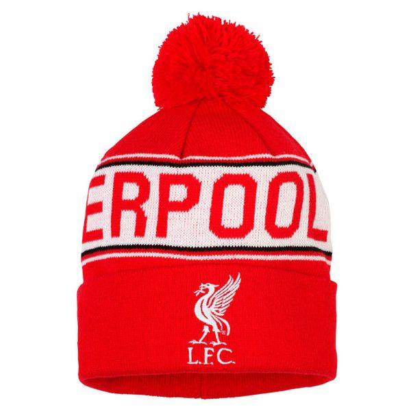 Junior Liverpool FC text beanie