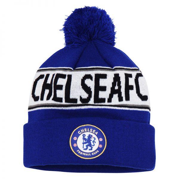 Junior Chelsea FC text beanie