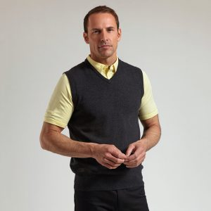 g.Thornton cotton v-neck slipover (MKC7079SO-THO)