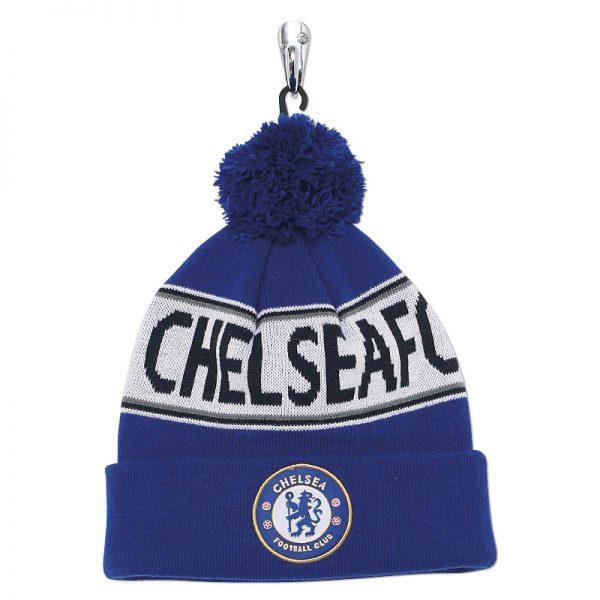Adult Chelsea FC text beanie