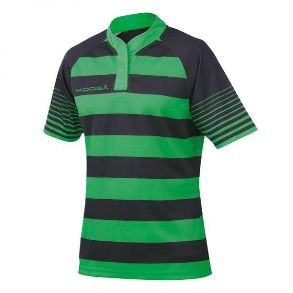 Touchline hooped match shirt