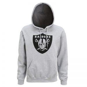 Oakland Raiders large logo hoodie