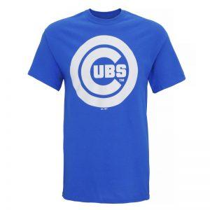 Chicago Cubs large logo t-shirt