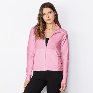 Women's cotton Spandex cadet jacket
