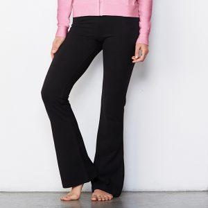 Women's cotton Spandex fitness trousers