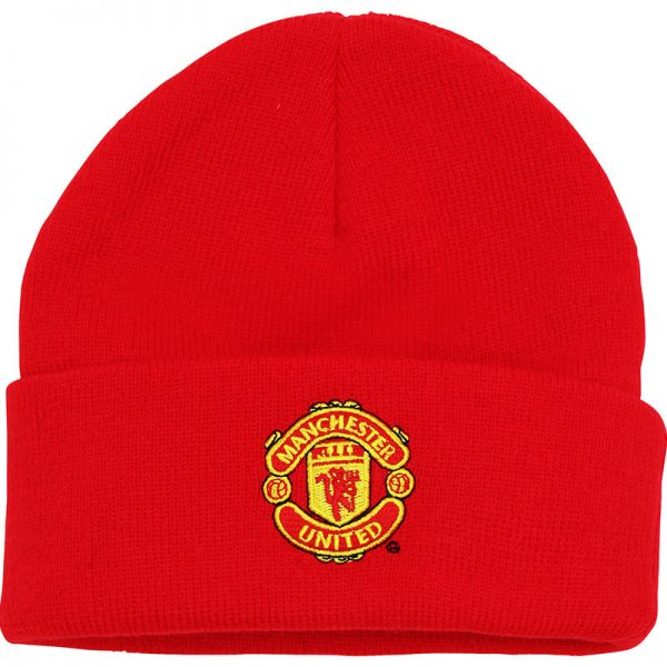 Junior Manchester United FC core beanie