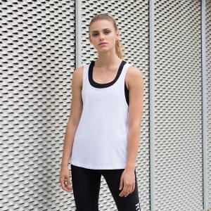 Women's fashion workout vest