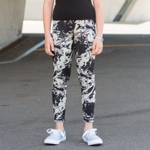 Kids reversible workout legging