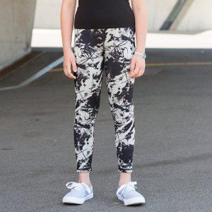 Kids reversible workout legging