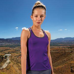 Women's TriDriÌ´åpanelled fitness vest