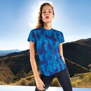 Women's TriDriÌ´å HexoflageÌÎå£ performance t-shirt