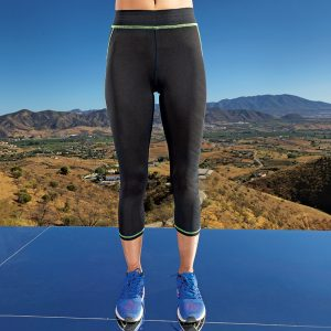 Women's capri fitness leggings