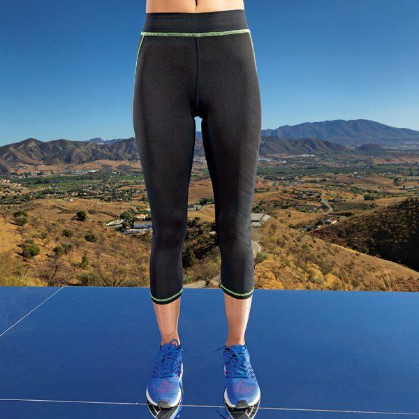 Women's capri fitness leggings