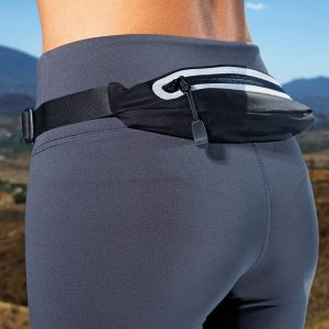 Expandable fitness belt
