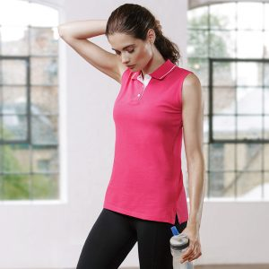 Women's GamegearÌ´å proactive sleeveless polo