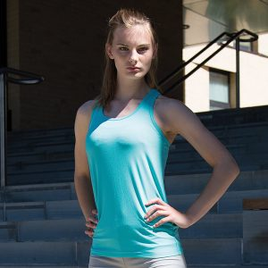 SoftexÌ´å fitness top super soft quick-dry fabric with HighTec stretch