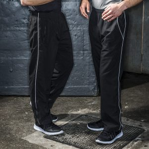 Piped lined training bottoms